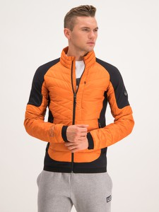 Pomarańczowa kurtka Emporio Armani