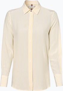 Żółta bluzka Tommy Hilfiger z długim rękawem