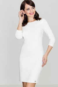 Sukienka sukienki.pl z długim rękawem dopasowana