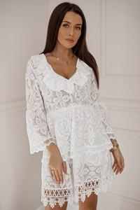 306784add5 białe sukienki koronkowe - stylowo i modnie z Allani