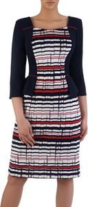 8b65982af98b0f sukienka w marynarskie paski - stylowo i modnie z Allani