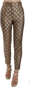 Brązowe jeansy Dolce & Gabbana