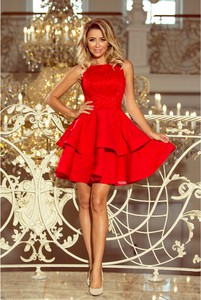 Sukienka NUMOCO rozkloszowana bez rękawów