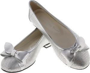 Baleriny Lafemmeshoes w stylu klasycznym z płaską podeszwą