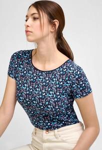 Niebieska bluzka ORSAY z okrągłym dekoltem
