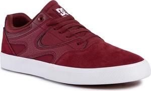 DC Shoes DC Sneakersy Kalis Vulc ADYS300569 Bordowy