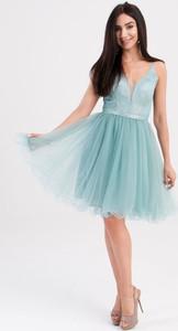 Sukienka Butik Ecru mini gorsetowa