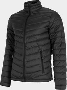 Czarna kurtka 4F w stylu casual