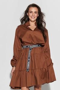 Sukienka Numinou w stylu casual mini z długim rękawem