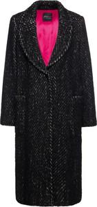 Czarny płaszcz Persona by Marina Rinaldi w stylu casual