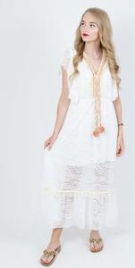 Sukienka Olika bez rękawów w stylu casual maxi