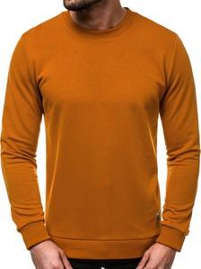 Pomarańczowa bluza Ozonee z bawełny