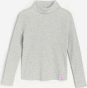 Koszulka dziecięca Reserved dla dziewczynek z bawełny z długim rękawem