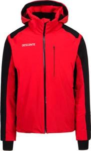 Czerwona kurtka Descente krótka