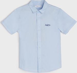 Koszula dziecięca Sinsay z jeansu dla chłopców