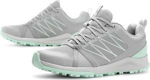 Buty sportowe The North Face sznurowane ze skóry ekologicznej