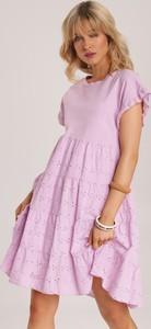 Sukienka Renee rozkloszowana mini w stylu casual