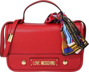 Torebka Love Moschino ze skóry średnia