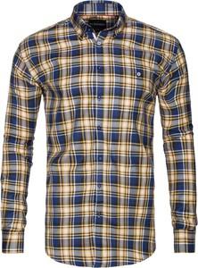 Koszula Di Selentino z kołnierzykiem button down z długim rękawem w stylu casual