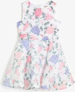 Sukienka dziewczęca Koton z bawełny