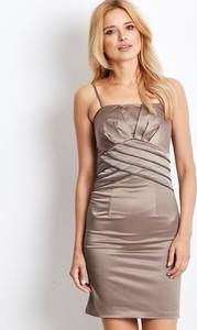 Sukienka Sheandher.pl bez rękawów gorsetowa mini