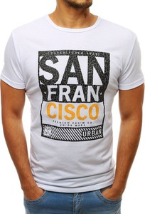 T-shirt Dstreet z krótkim rękawem w młodzieżowym stylu
