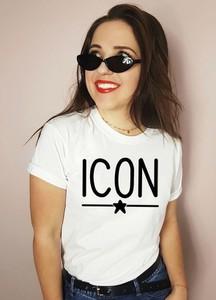 Bluzka Time For Fashion w młodzieżowym stylu z okrągłym dekoltem z bawełny