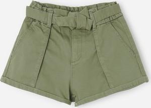 Zielone spodenki dziecięce Reserved z bawełny