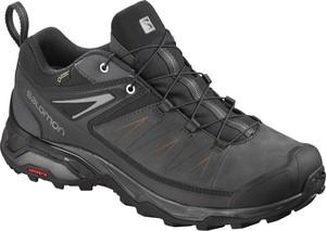 Buty trekkingowe Salomon ze skóry w sportowym stylu