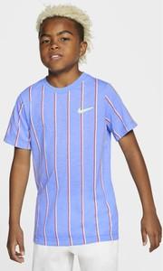 Koszulka dziecięca Nike z krótkim rękawem w paseczki dla chłopców