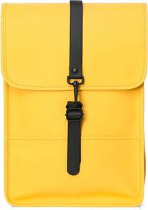 Żółty plecak Rains