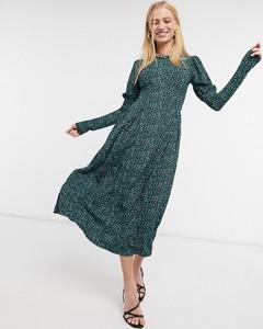 Zielona sukienka River Island midi