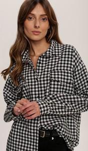 Koszula Renee w stylu casual z kołnierzykiem