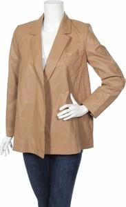 Brązowa kurtka ZARA w stylu casual krótka