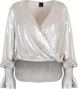 Bluzka ubierzsie.com z długim rękawem z dekoltem w kształcie litery v