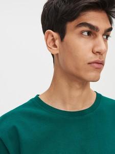 Zielony t-shirt Cropp