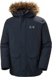 Niebieska kurtka Helly Hansen z bawełny długa