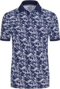 Niebieska koszulka polo S.Oliver z bawełny