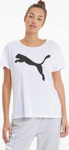 T-shirt Puma z krótkim rękawem z dżerseju