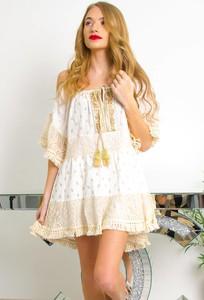 Sukienka Olika mini w stylu boho