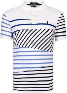 T-shirt POLO RALPH LAUREN z krótkim rękawem z bawełny w młodzieżowym stylu