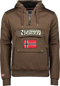 Brązowa bluza Geographical Norway