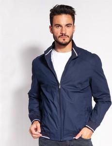 Granatowa kurtka Lee Cooper z bawełny w stylu casual