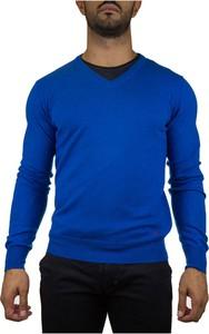 Niebieski sweter Peuterey w stylu casual