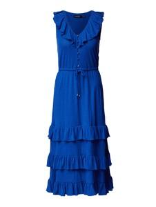 Niebieska sukienka Ralph Lauren z dekoltem w kształcie litery v