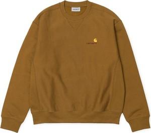 Brązowa bluza Carhartt WIP z bawełny w stylu casual