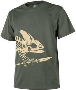 T-shirt HELIKON-TEX w młodzieżowym stylu z bawełny