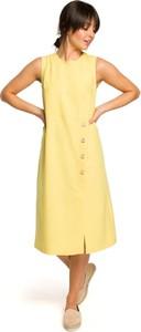 Sukienka Merg midi bez rękawów
