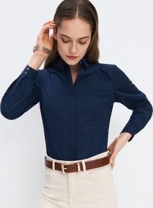 Niebieska koszula Mohito