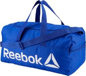 Niebieska torba sportowa Reebok